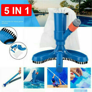 Swimming Pool Vacuum Cleaner Cleaning Robot Clean Electrical Spa Tub Tool Kit