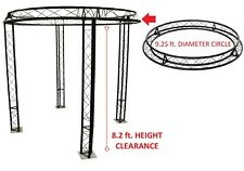 92 Ft Diameter Trade Show Exhibition Booth Trusses Dj Stage Metal Circle Truss