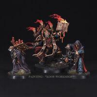 Warhammer 40k Painted Dark Apostle,.Chaos Space Marines TOP painting