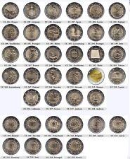 2 Euro Gedenkmünzen 2015 - UNC / Coincard / PP