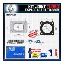 Joints Turbo 2.1 dT TD 88 Cv Renault Espace  Garrett TA0305 465764-3