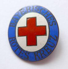 Anstecknadel --Deutsches Rotes Kreuz-- emailliert ovale Form ohne Nadel!!!