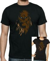 Mens and Womens STAR WARS CHEWBACCA WOOKIE T-shirt ....Sizes Up to 5X Large