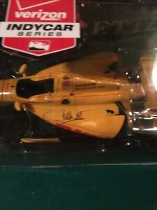 INDYCAR SERIES RACING RYAN HUNTER-REAY INDY DHL ANDRETTI 1/18 AUTOGRAPHED