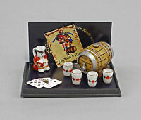 "9911024 Reutter Puppenstuben-Miniatur  ""Captains Rum"""