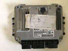 Citroen c4 motorsteuergerät 0281011863 0 281 011 863 96617 73380 edc16c34