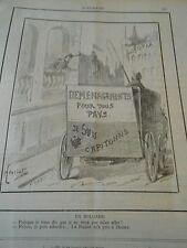 Typo 1890 En Bulgarie Demenagements pour tous pays suis Capitonné
