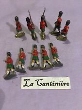 Lot - soldat de plomb ancien Armee Britannique Ecosse