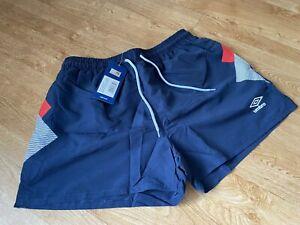BNWT UMBRO Swim Shorts. 'Lineker' Inspired! RRP £25 Size Large