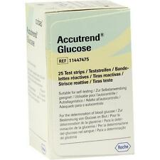 ACCUTREND Glucose Teststreifen 25 St