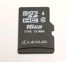 2015 2016 2017 LEXUS NAVIGATION MAP MICRO SD CARD 86271-78012 GPS DATA OEM