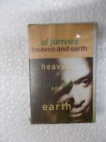 AL JARREAU HEAVEN & EARTH RARE orig CASSETTE TAPE INDIA CLAMSHELL 1992