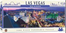 Las Vegas Nevada 1000 piece panoramic jigsaw puzzle  990mm x 330mm  (mpc)