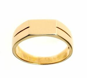 9ct Gents Signet Ring