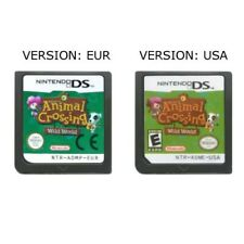 Animal Crossing Wild World Nintendo DS 3DS 2DS EUR - USA