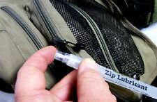 Slug Slime Zip Cleaner and Lubricant Handy Spray Pen Drysuit Tents Stuck Zips