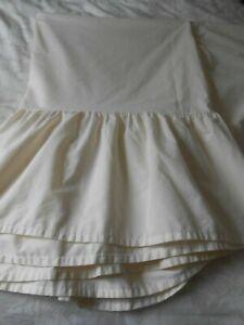 Vintage Single Bed Under Mattress Valance sheet