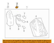 Pontiac GM OEM Vibe Taillight Tail Light Lamp Rear-Retainer Grommet 88975727