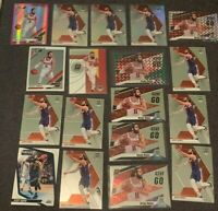 Ricky Rubio Lot (18) + Mosaic Silver Holo Prizm + Optic Hyper Pink Prizm + Green