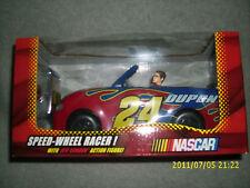 NASCAR JEFF GORDON SPEED WHEEL RACER & FIGURE #24