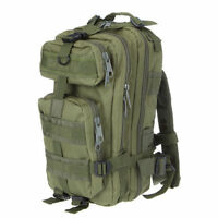 30L Olive Military Backpack Bag Holdall Rucksack Army Green Hydration Compatible