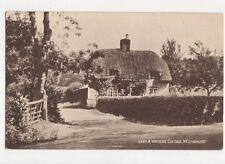 A Wayside Cottage Nr Lyndhurst Vintage Postcard  216a