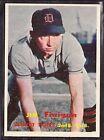 1957 TOPPS BASEBALL CARD #248 JIM FINIGAN DETROIT TIGERS - EX+