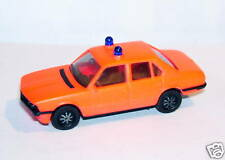 MICRO HERPA HO 1/86 1/87 BMW 528 I POMPIERS ? ROSE FLUO
