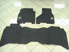 Ram Rubber Slush Floor Mats 82212385 & 82212394 Mopar Front & Rear Dark Slate