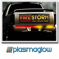 "48"" PLASMAGLOW FIRESTORM SCANNING LED LIGHT BAR TRUCK"
