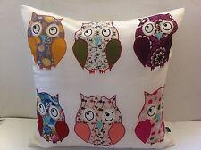Cheeky Owls Cushion Cover - 45cm x 45cm