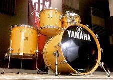 Yamaha Maple Custom Natural Gloss 4pc Drum Set 22,16,13,12