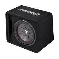 Kicker 12 Inch 1000 Watt 2-Ohm Ported Vented Subwoofer Enclosure Box | 43VCWR122