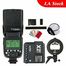 Godox TT685S Camera Flash X2T-S Bluetooth Transmitter Bowens Bracket Fr Sony A68
