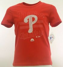 Philadelphia Phillies official MLB Kids Youth Size Girls T-shirt New With Tags