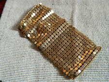 @@@ Wunderschöne breites Goldfarbenes Armband mit Punze @@@