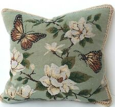 2x Quality Chic Butterfly Cushion Cover Tapestry 45cm