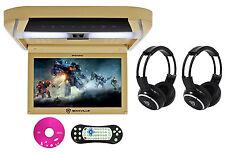 "Rockville RVD10HD-BG 10.1"" Flip Down Monitor DVD Player, HDMI, USB+Headphones"