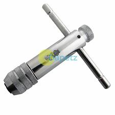 RATCHET TAP WRENCH M5 - M12 FORWARD REVERSE LOCK TAP AND DIE T BAR HANDLE