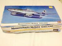 HASEGAWA  1/72  Model Kits.MESSERSCHMITT ME262A *GALLAND*00627**