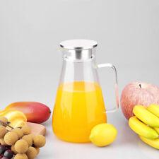 1.8L Water Carafe Glass Bottle Water Tea juice Decanter 68oz Bottle Decanter