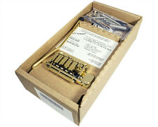 """TREM KING TKS-1 """"Fixed Bridge Vibrato"""" System for Strat-Style Guitars, GOLD"""