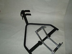 Motorradständer - Wippe Motorradwippe für den Anhänger Garage oder Hebebühne