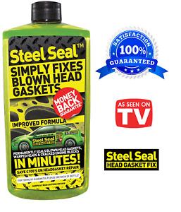 Steel Seal Head Gasket Fix Repair Coolant Repair Fix - 473ml Same Day Dispatch