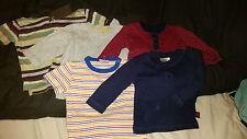5 x Camisetas de bebé de 3-6 meses de edad F & F y siguiente