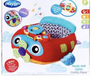 Playgro Music and Lights Comfy Plane