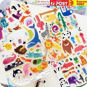 JAPAN Mind Wave [Funny Shape Animal] Sticker Sheet Scrapbooking