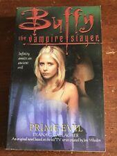 BUFFY THE VAMPIRE SLAYER PRIME EVIL BOOK BTVS