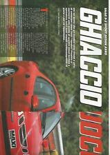SP35 Clipping-Ritaglio 2003 Saab 9-3 Sport Sedan Aero Ghiaccio e fuoco