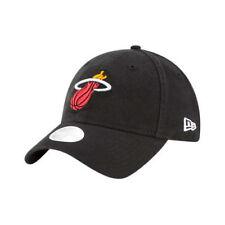 watch b82e8 7ddf4 New Era Miami Heat Women s Black Core Classic Logo 9TWENTY Adjustable Hat  Cap